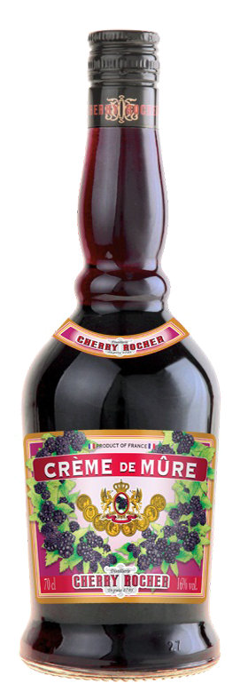 Crème de mûre / Blackberry liqueur - Cherry Rocher