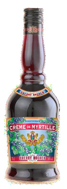 Crème de myrtille / Blueberry liqueur - Cherry Rocher