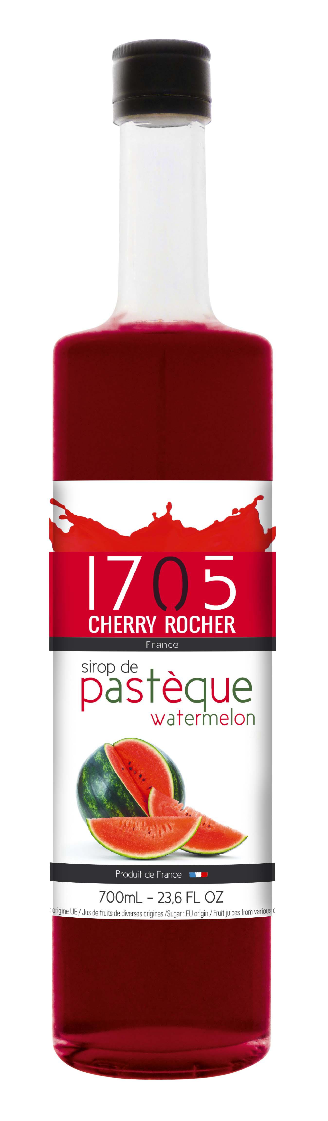 Watermelon syrup - Cherry Rocher