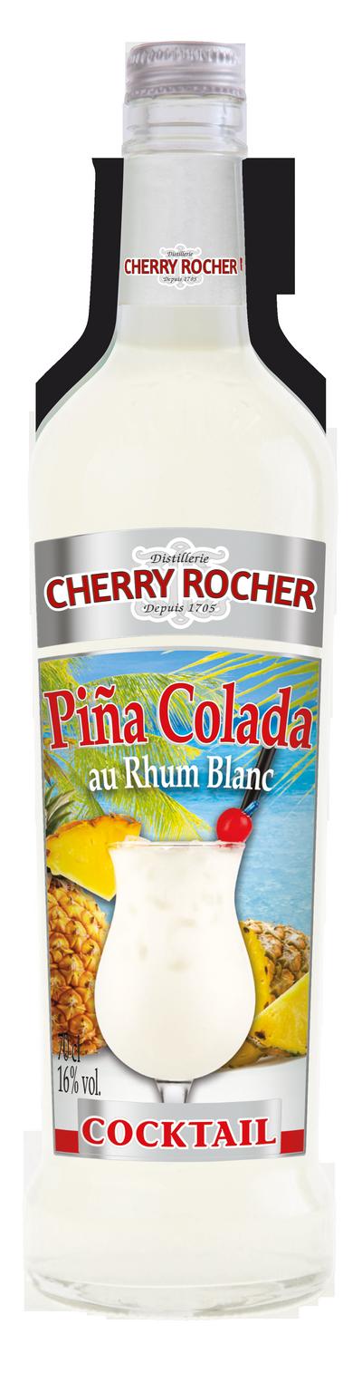 Piña colada - Cherry Rocher