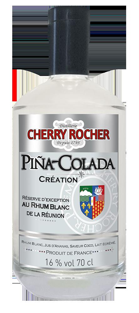 Piña Colada Creation - Cherry Rocher