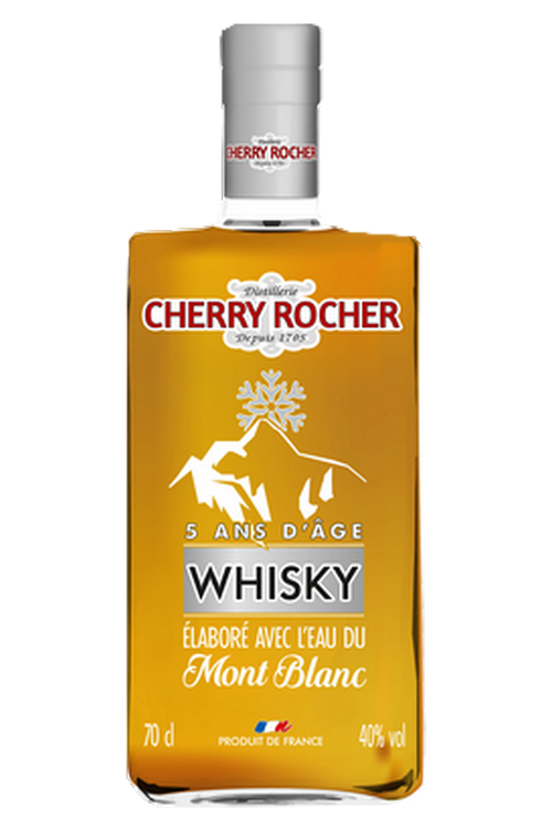 Whisky made with the waters of the Mont Blanc - Cherry Rocher