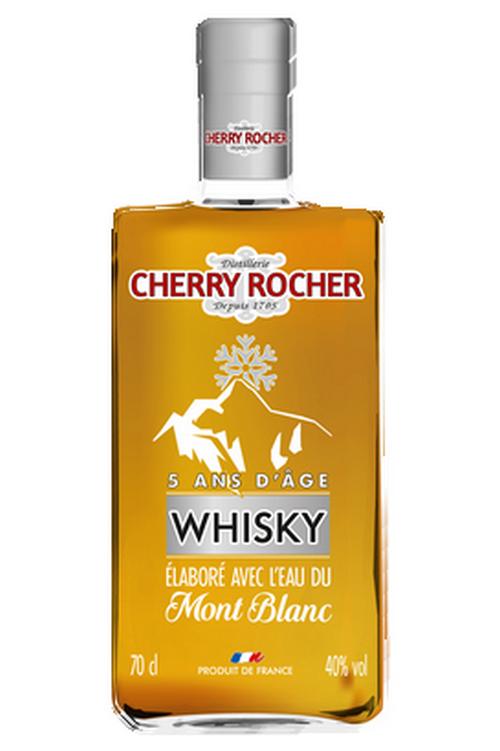 Whisky élaboré avec l'eau du Mont Blanc - Cherry Rocher